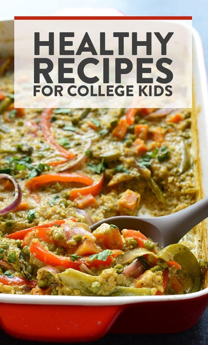 healthy meals for college students