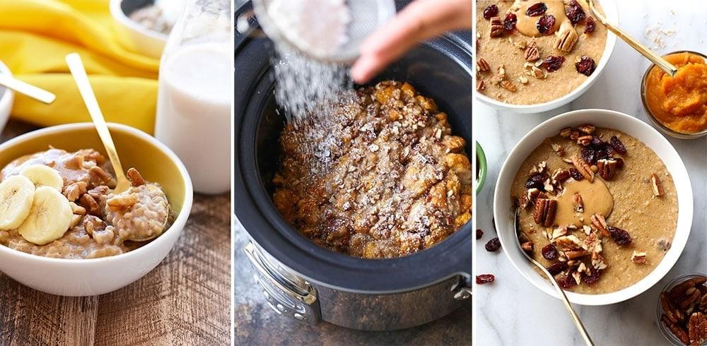 slow cooker breakfasts
