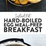 Instant Pot Hard Boiled Egg Meal Prep Breakfast