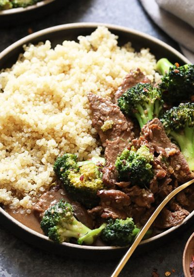 Make your takeout dreams come true any night of the week with this epic Instant Pot Beef and Broccoli recipe. This will give your favorite slow cooker beef and broccoli stir fry recipe a run for its money...and time because it's made with a cook time of just 9 total minutes!