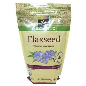photo of ground flax seed