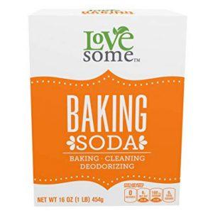 photo of baking soda