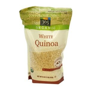 photo of white quinoa