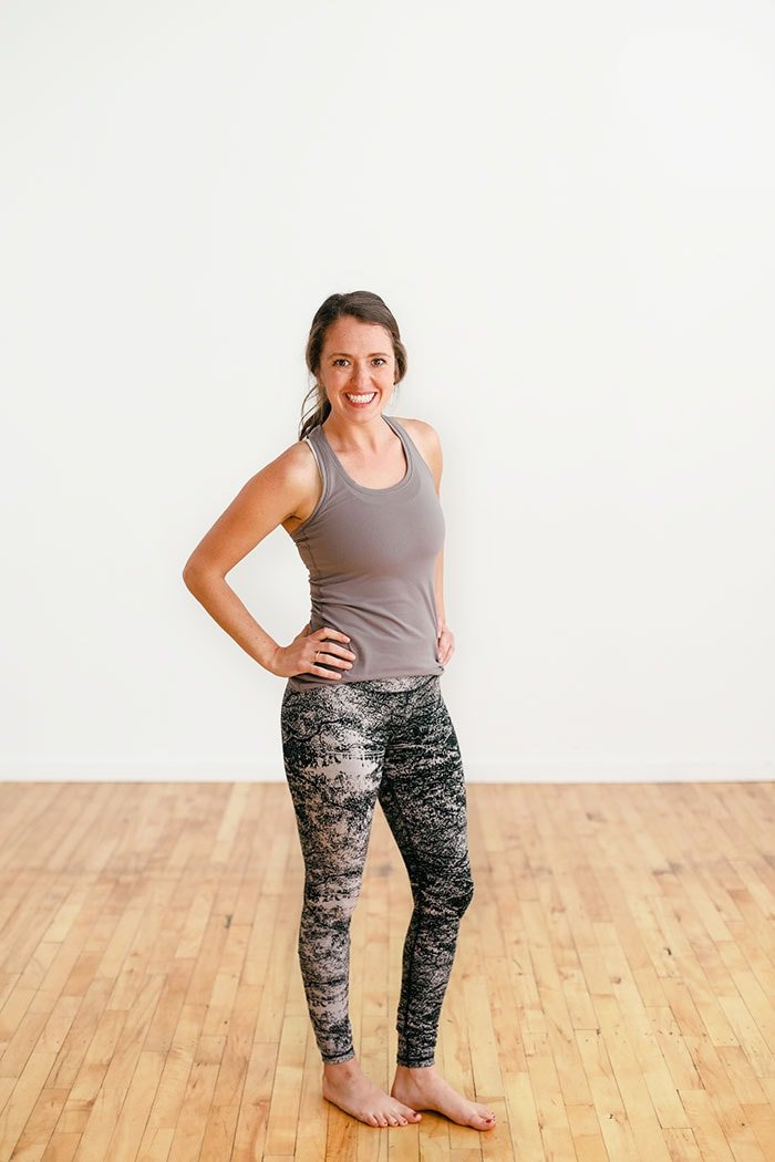 e748e3a31f I also appreciate that these elation workout leggings are a true high rise  pant that holds everything in when I am in a forward fold. -Linley // 5'3″