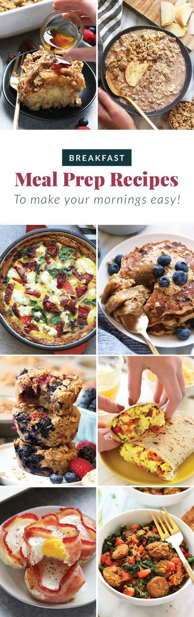breakfast meal prep recipes