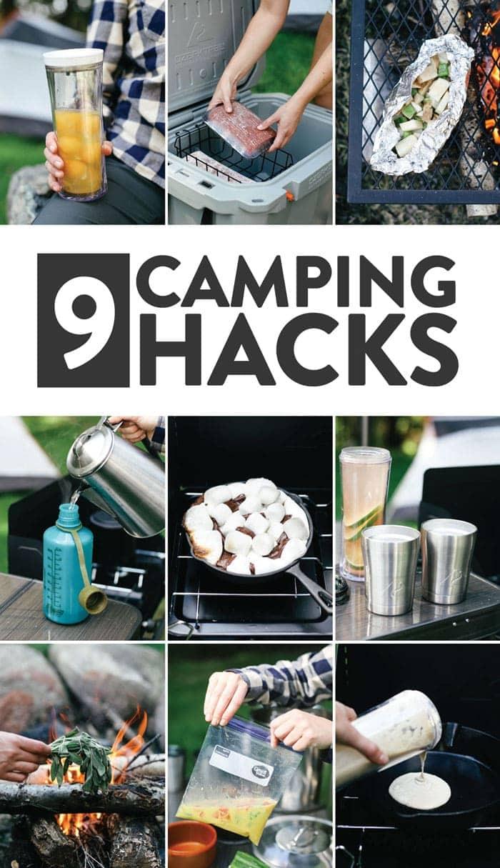 9 camping hacks
