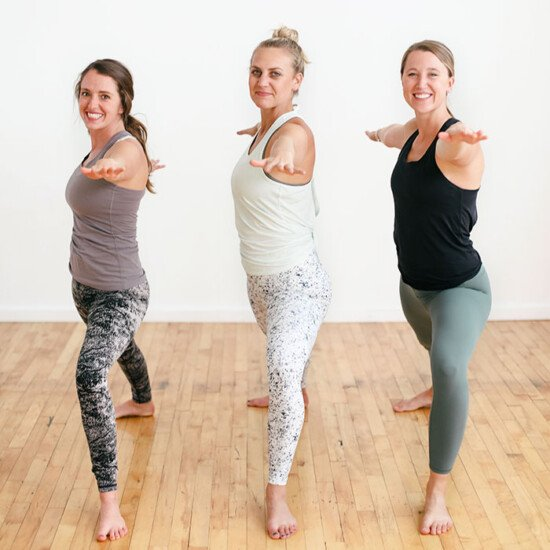 The best workout leggings for women all in one place! We set off to find the best workout leggings, and tested all of these doing yoga, HIIT, running, and everything in between. Read on for our top 3 best workout leggings + honorable mentions.