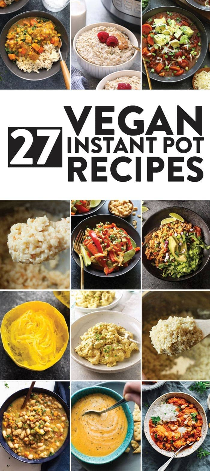 Vegan Instant Pot Recipes
