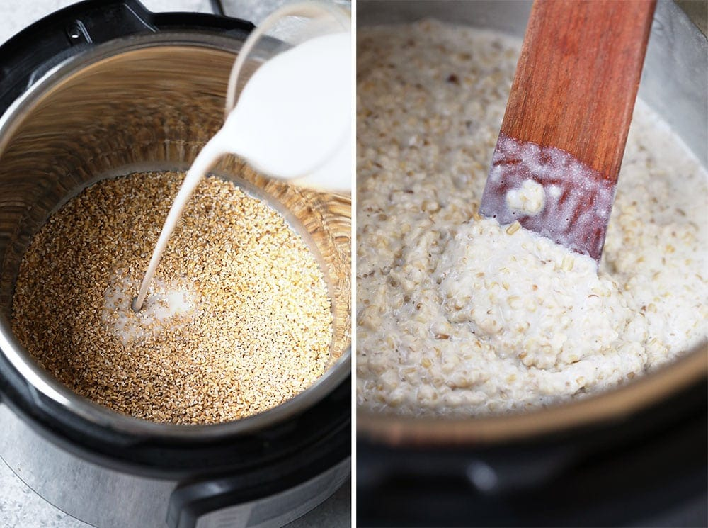 oatmeal in instant pot