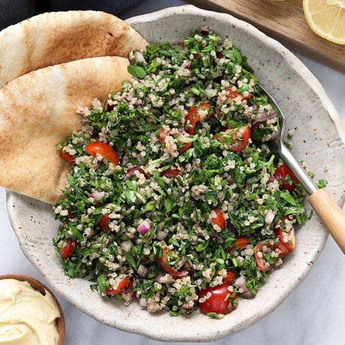Quinoa Tabouli Recipe Vegan And Gluten Free Fit