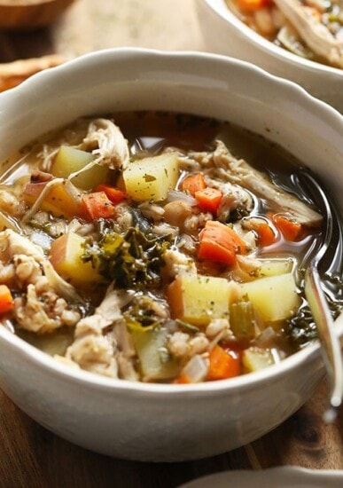 Tuscan Turkey Soup