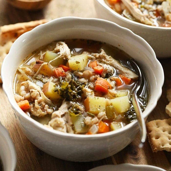 Tuscan Turkey Soup