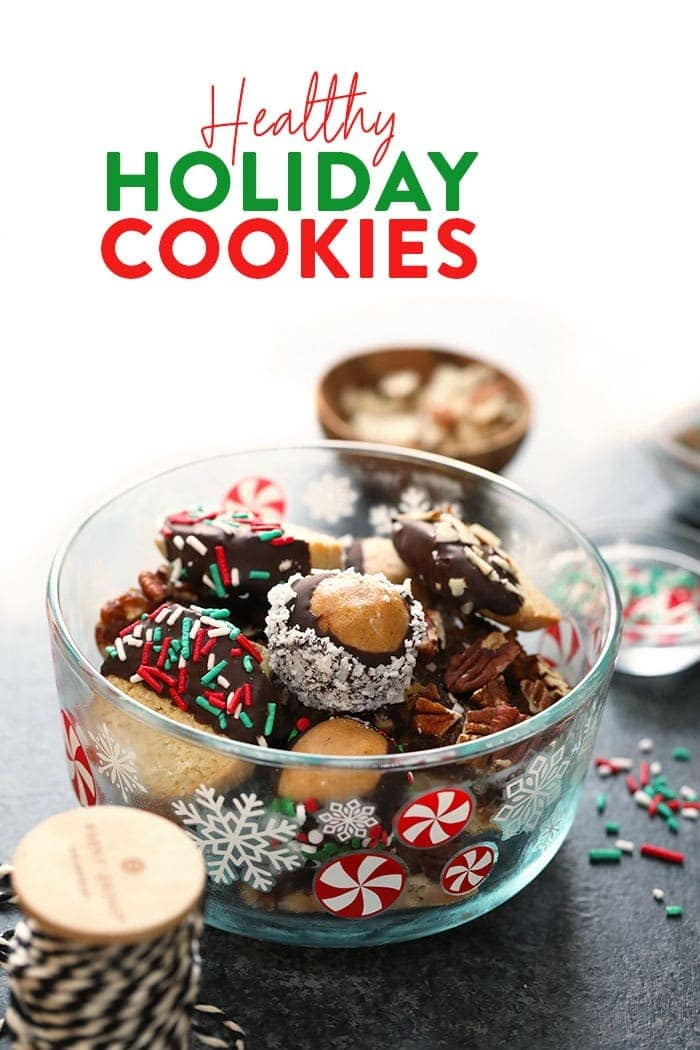 50 Healthy Christmas Cookie Recipes
