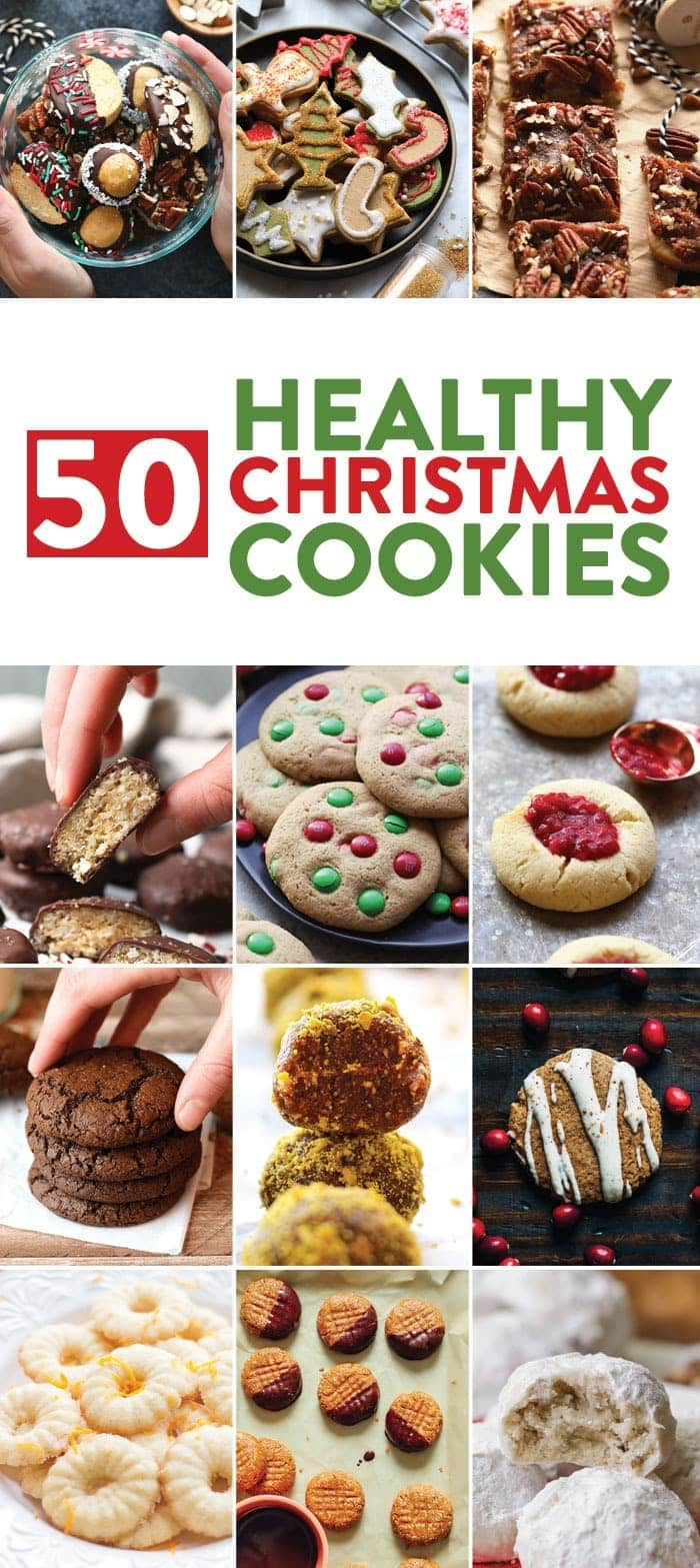 50 Healthy Christmas Cookies