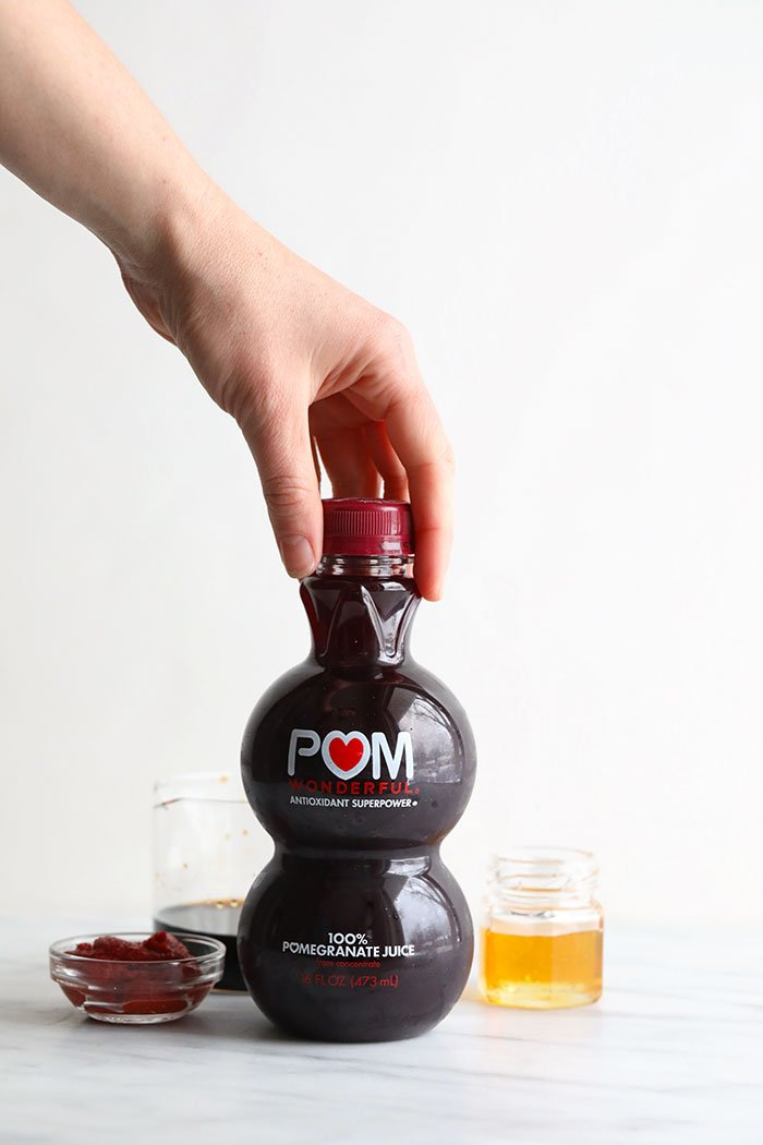 POM Wonderful 100% Pomegranate Juice bottle