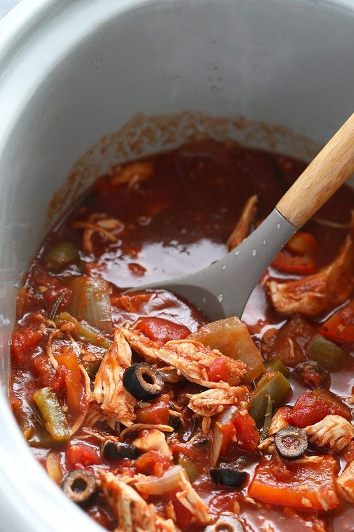 chicken cacciatore crock pot recipe