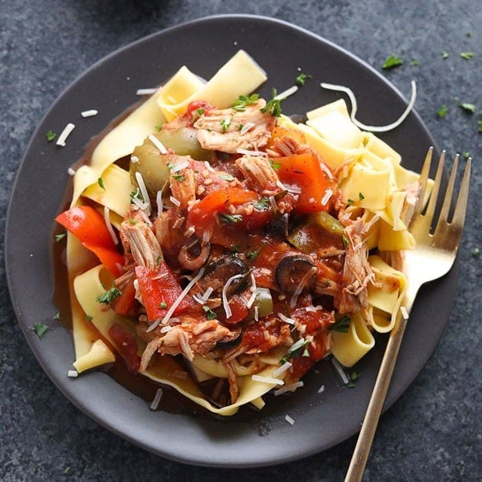 chicken cacciatore crock pot
