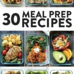 healthy meal prep recipes