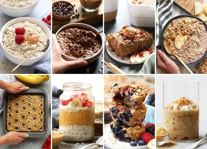 Healthy Oatmeal Recipes
