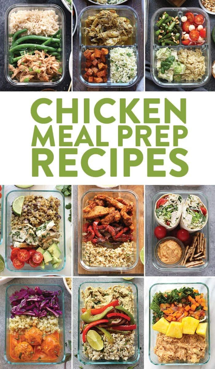 Chicken Meal Prep Recipes , Fit Foodie Finds