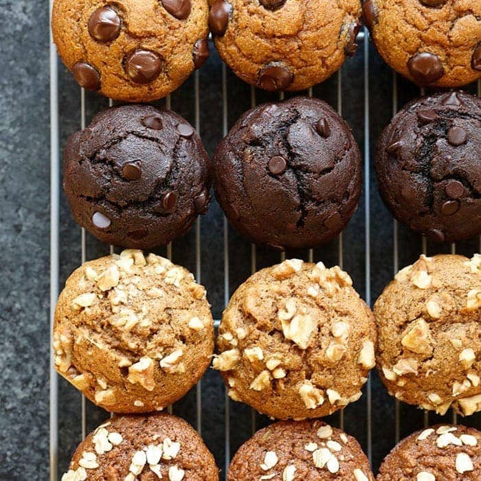 6 Healthy Muffin Recipes 1 Base Batter Fit Foodie Finds