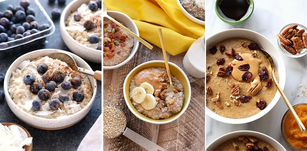 3 oatmeal images