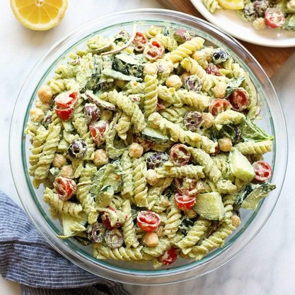 Creamy Greek Pasta Salad