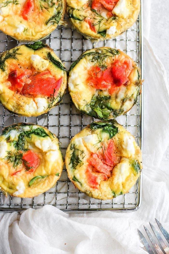 smoked salmon breakfast frittata ingredients