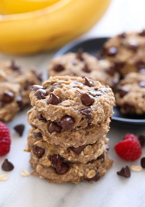 oatmeal cookies on plate