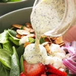 Homemade poppyseed dressing