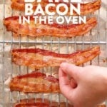 how to bake bacon pin