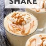healthy banana protein shake