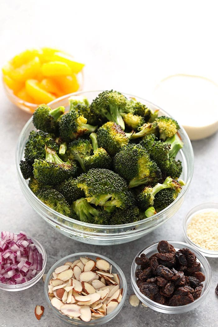 Asian Broccoli Salad Ingredients