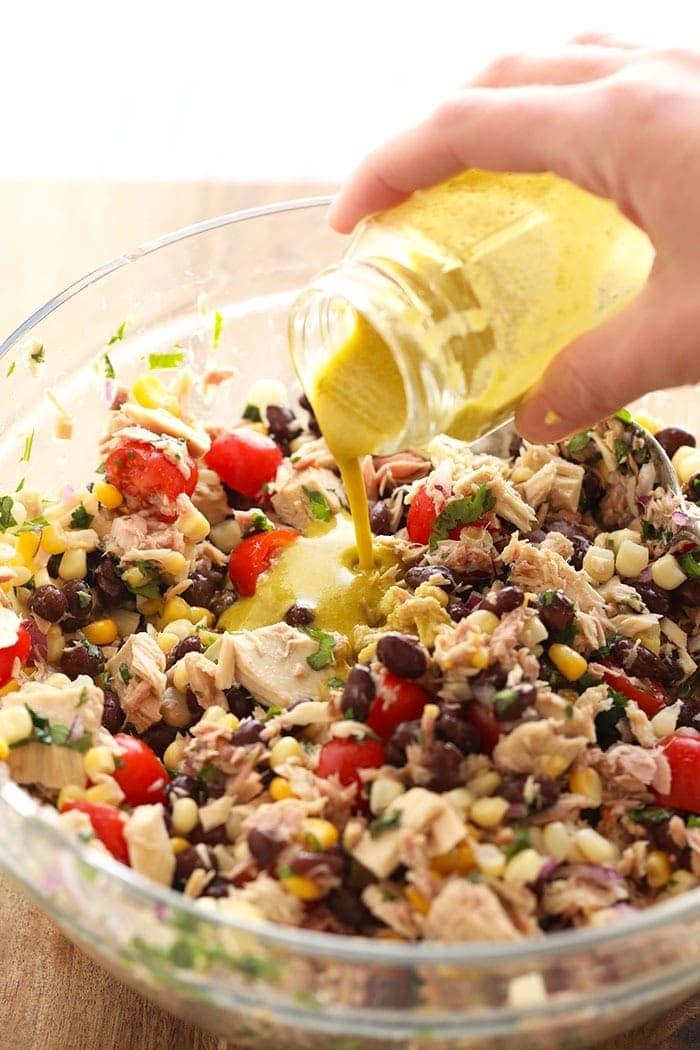 tuna salad without mayo