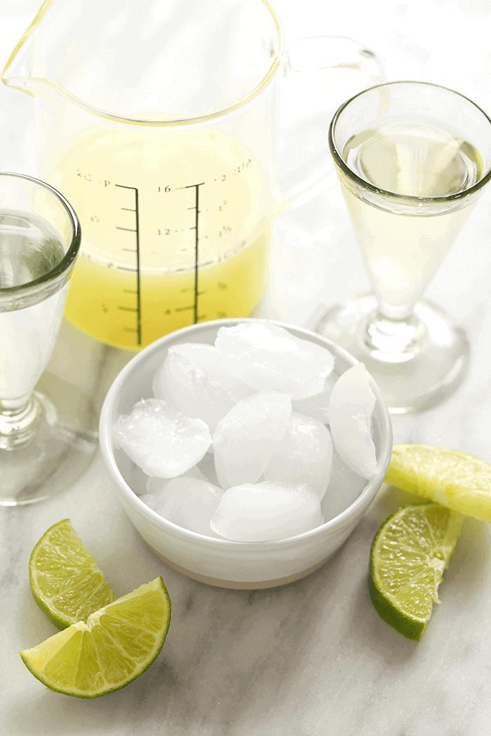 frozen margarita ingredients