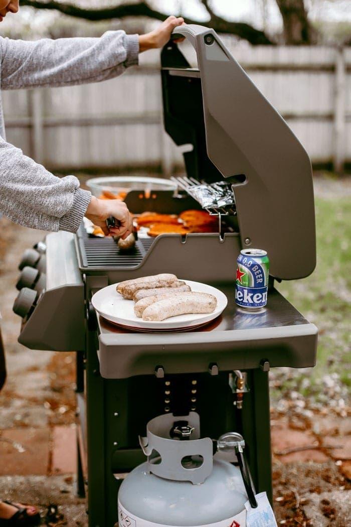 grilling brats