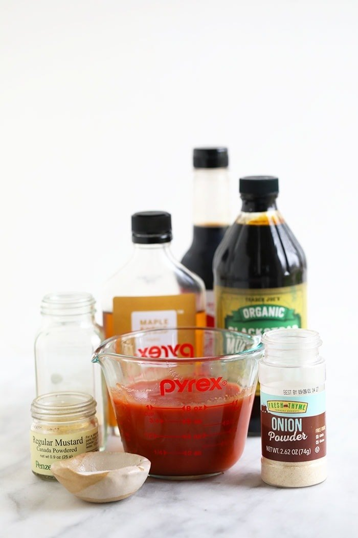 homemade bbq sauce ingredients