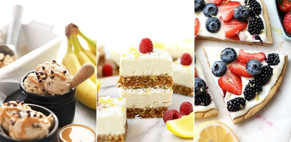 healthy summer dessert recipes