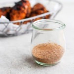 dry rub for chicken in a jar