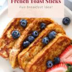 french toast sticks pin