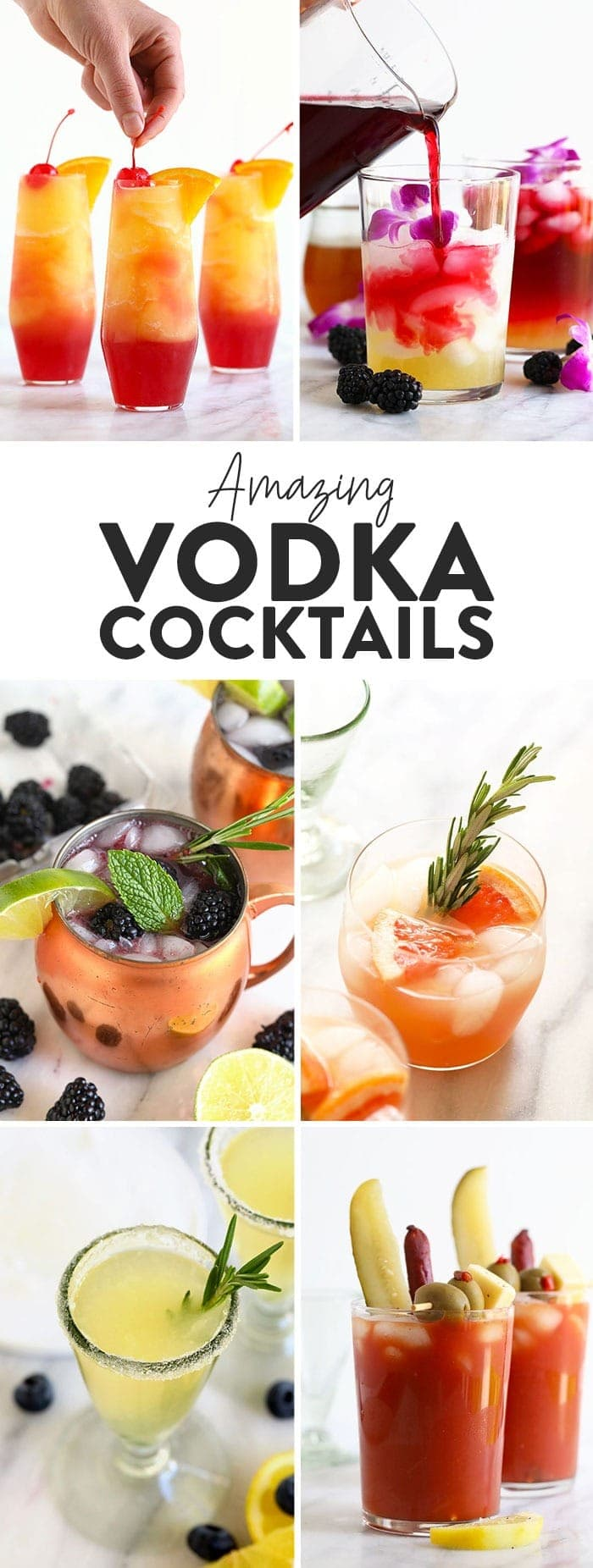 28 Amazing Vodka Cocktails Fit Foodie Finds