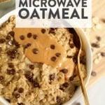 microave oatmeal