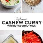 creamy cashew curry