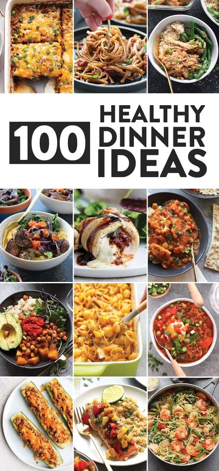 100 healthy dinner ideas