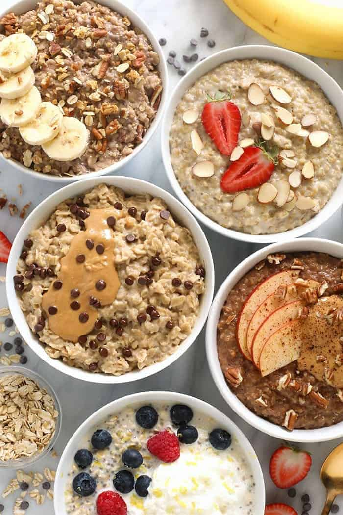 How To Make Oatmeal Every Way Possible