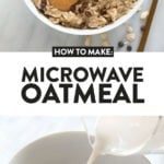microwave oatmeal how-to