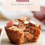 muffins on cutting board