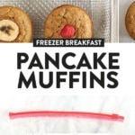 banana pancake muffins
