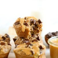 oatmeal cups with peanut butter