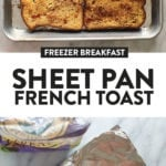 sheet pan french toast